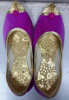 Xmas in july sale Top Grade Handmade Indian Colorful Mojari Jutiya Belly - Handmade Colorful Mojari Jutiya Belly Shoes.