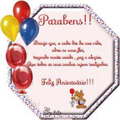 Que todos os seus sonhos sejam realizados. Feliz Aniversário!!!