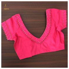Cotton Saree Blouse Designs, Best Blouse Designs, Simple Blouse Designs, Blouse Back Neck Designs, Stylish Blouse Design, Sari Blouse, Indian Blouse, Designer Blouse Patterns, Boutique