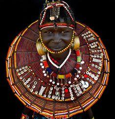 Africa | Pokot woman. Kenya | ©Benoît Feron