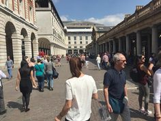 Covent Garden Central London England on Friday 20 April 2018