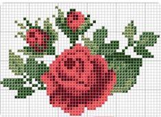 101 ÇEŞİT GÜL ŞABLONU (1) - GELİN İŞLERİ Embroidery Patterns Free, Cross Stitch Embroidery, Cross Stitch Patterns, Cross Stitch Flowers, Needlepoint, Blog, Google, Cross Stitch Rose, October Flowers