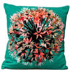 pillow- living room colours?  #almofada #cushion #pillow