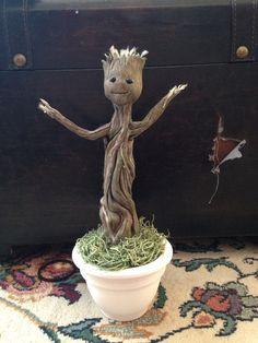 Homemade Groot ^___^