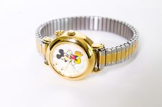 Vintage Disney Mickey Mouse Watch by BeulahLouiseVintage, $39.00. Use Coupon Code BLOGREADER for free shipping. #cybermonday