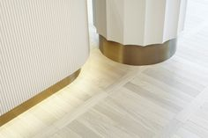 Concept-store Apropos Hamburg, men flagship, brass details, retail design by Rodolphe Parente