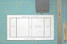 free pattern oilcloth book cover with pockets - Google Search