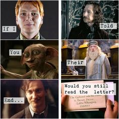 Harry potter + end + If I told you