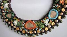 CHEERFUL COLLAR NECKLACEHandmade JewelryBeaded by YASEMINJEWELRY