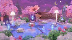 Animal Crossing Fish, Animal Crossing Wild World, Animal Crossing Villagers, Animal Crossing Qr Codes Clothes, Pink Animals, Cute Animals, Nintendo Switch, Pink Island, Pokemon