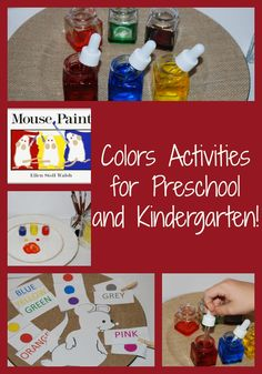 Mouse Paint: Learning About Colors in Preschool! #TeachECE | The Preschool Toolbox Blog