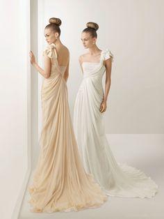 ec2f16967482 Image detail for -Missy Bridal - One Shoulder Chiffon Greek Style Wedding  Dress WDEM014 Chiffon