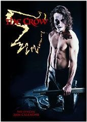 THE CROW - Brandon Lee Calendar 2006 official calendar, The Crow Calendar by Slow Dazzle Crow Images, Crow Photos, Crow Movie, Lee Movie, Bruce Lee Family, The Crow, Bruce Lee Photos, Goth Guys, Crow Art