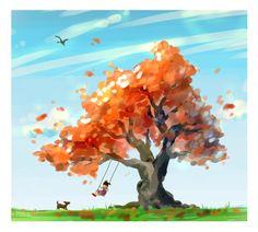 tree - sketch by octoputato.deviantart.com on @deviantART