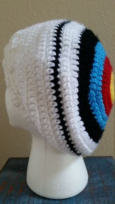 Target Hat Rack Archery Target Hat Knitting Pattern Ahhhh I Am Going To Make This