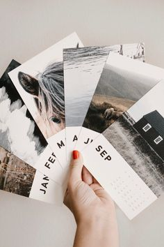 Create a custom Wood Calendar from @artifactuprsng by simply uploading 12 of your favorite photos like @joaniebier.