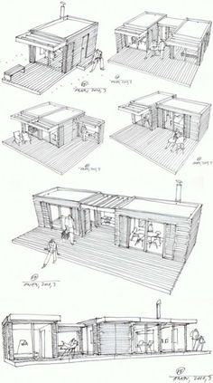 Modular Rustic Cottage (9) #WoodworkInstituteOfCalifornia