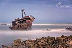 Shipwreck in SA.