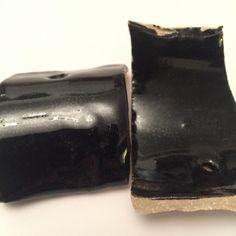 Category: Glaze, Black, Glossy, Author: Linda Cash, Notes: Glossy black. John Hesselberth of Frog Pond Pottery.