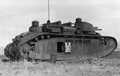 Char 2c no 97. French giant Char 2 c tank No. 97 near Normandy from the 1st Battalion 51 heavy tanks in a pre-war exercise of the French army .
