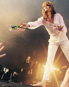 Florence Welch of Florence and The Machine Florence And The Machine, Florence The Machines, Fleetwood Mac, Stevie Nicks, Style Florence Welch, How Beautiful, Beautiful People, Indie, Sara Bareilles