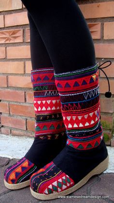 amazing embroidered boots