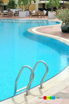 Swimming pool pool decks chic outdoor pool decorations for Pool design hours