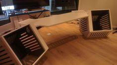 Noisia studio desk Designed by Northward Acoustics