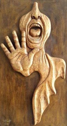 Wood Carving Art, Wood Art, Abstract Sculpture, Wood Sculpture, Wood Crafts, Paper Crafts, Woodcarving, Craft Projects, Stones