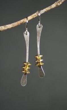 Wishbone Earrings by MaggieJs on Etsy