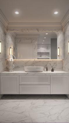 Dream House Interior, Luxury Homes Dream Houses, Dream Home Design, Home Interior Design, Washroom Design, Bathroom Design Luxury, Bathroom Renovations, Home Remodeling, Bathroom Design Inspiration