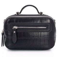 DAVIDJONES women handbag female classic serpentine prints shoulder bags ladies handbags messenger bag Cross-body