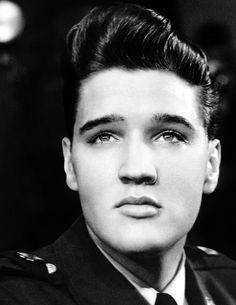Elvis Presley — vinceveretts:   Elvis during a press conference at...
