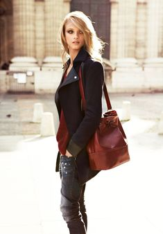 Cool Autumn – Feast your eyes on Mango's fall 2012 catalogue starring Russian beauty Anna Selezneva. The Spanish label's autumn collection is all about style with ease as shown by the large selection of casual knits, heavy jackets and denim. With looks that smoothly range from day to nighttime wear, Anna hits the town in modern ensembles featuring everlasting staples for the new season.