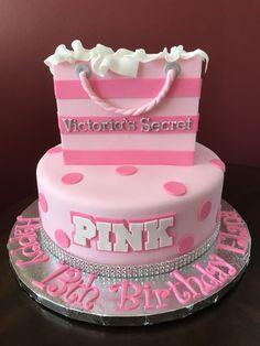 32 Wonderful Image Of Pink Birthday Cake