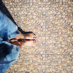 Sandały na Palec Dżety Rockstud #9649 FASHIONAVENUE.PL