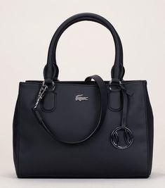 23fed375bc5d9 Black textured mini tote Lacoste fantasy keychain  black  fantasy  keychain   lacoste  textured. Best Bag Ideas
