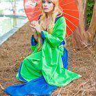 [SELF] Yuzuruha (Muramasa: The Demon Blade) Cosplay by Rebecca Sweet from HoshiCon 2015 _