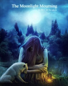 The-moonlight-mourning by MasoomehTavakoli.deviantart.com on @deviantART