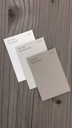 SW7004 Snowbound | SW7029 Agreeable Gray | SW7031 Mega Greige . . . #design #interiordesign #paint #paintcolors #interiorpaint #longisland #hamptons #beach #architecture #wallpaper #nature #adventure #montauk #urban  #modern #fitness #rustic #grays #purewhite #sw7004 #sw7029 #sw7031 #snowbound #agreeablegray #megagreige #city #nyc #newyork