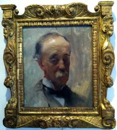 FitzWilliam Sargent, father of John Singer Sargent, painted by same. In the Sargent House Museum collection, Gloucester, Massachusetts.