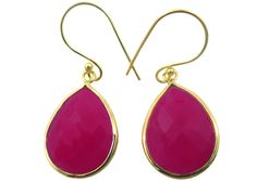 Shiva, Bright Pink, Girly, Drop Earrings, Jewels, How To Make, Color, Women's, Colour