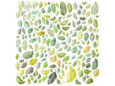 Dribbble - Leaf pattern by Jacob Hubertus