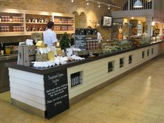 Daylesford Organic | SRDS Consultants, flat fronted glass counters
