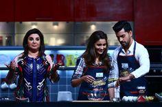 फिल्मकार फराह खान अपने नए कुकरी शो 'फराह की दावत' को लेकर खासी रोमांचित हैं और उनका कहना है