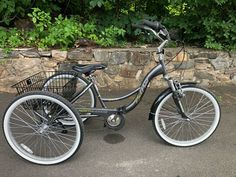 #RockPoint #Northwoods 2400 #Tricycle with Basket #ForSale #SportingGoods - #Pelham, NY at #Geebo Bicycles For Sale, Tricycle