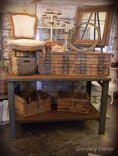 Rustic-  Visit Gracefully Vintage on Facebook
