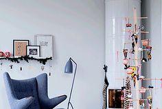 Dashing Scandinavian Apartment ready for Christmas