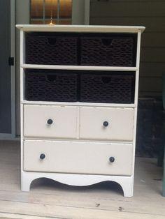 repurposed dresser. Sold.