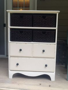 repurposed dresser. Sold.